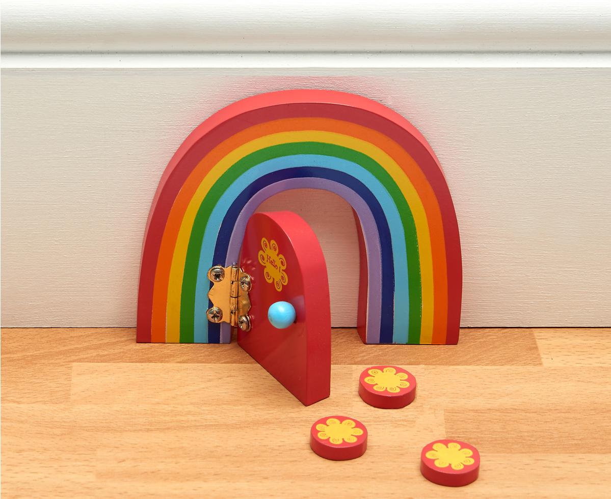 Fairy door rainbow for Rainbow fairy door